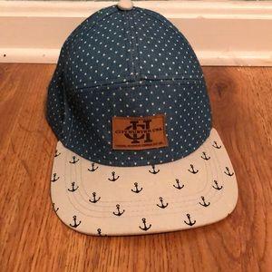 City Hunter USA SnapBack Nautical Baseball Hat